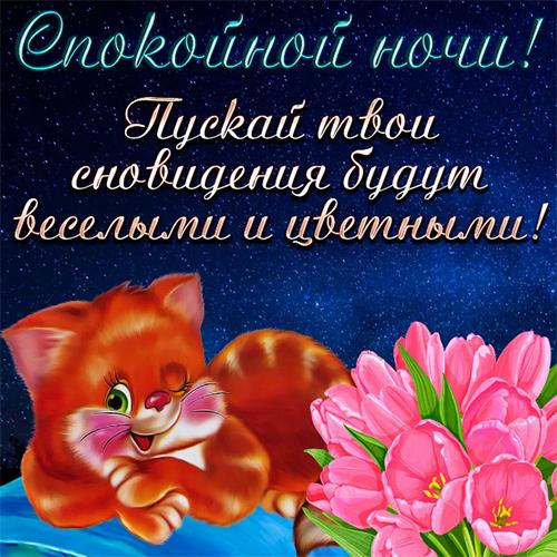 Открытки с пожеланиями доброй ночи и прекрасных снов